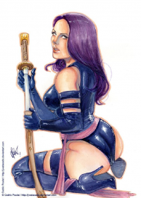 Psylocke from J-Estacado