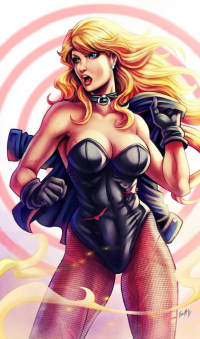 Black Canary from Edgar Sandoval