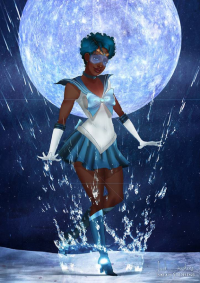 Sailor Neptune from Isaiah Stephens