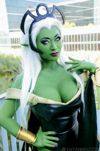 Yaya Han as Skrull Storm