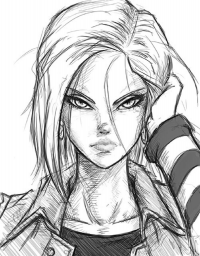 Android 18 from dafrek