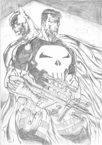 Batman, Punisher from Andi Supriyono