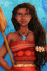 Moana from Sika-chan