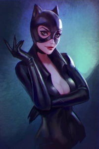 Catwoman from Anna Maystrenko