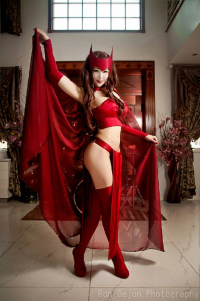 Mostflogged as Scarlet Witch