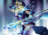 Crystal Maiden from Andrea Vincze