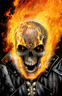 Ghost Rider from Jason Metcalf