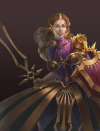 Leona from Unknown Artist