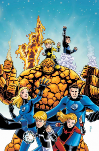 Reed Richards, Johnny Storm, Sue Storm, The Thing from Marcelo Di Chiara