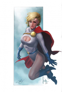 Power Girl from Chekydot Studio