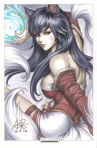 Ahri from Stanley Lau