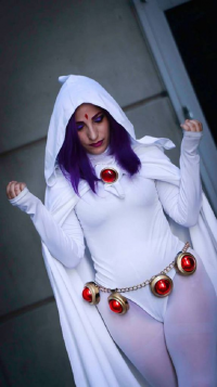 Daddys Lil Monster Cosplay as Raven
