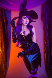 Unknown Female Artist as Witch