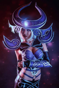S Vale Cosplay as Syndra