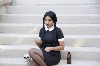Nerdtastic Mel as Wednesday Addams