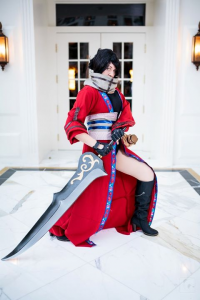 Marie Grey as Auron