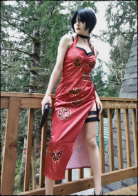 OscuroLupo Cosplay as Ada Wong