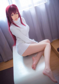 青青子w as Scathach