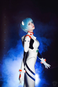 Frosel as Rei Ayanami