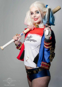 Thelema Therion as Harley Quinn