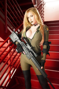 Crystal Graziano as Sniper Wolf