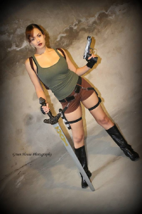 Victoria Cosplay as Lara Croft