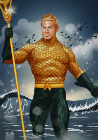 Aquaman from Vassilis Dimitros