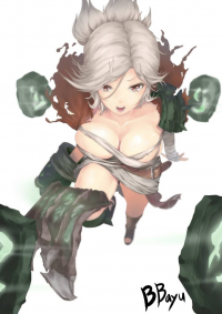 Riven from Unknown Artist