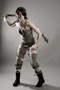 Alexa Karii as Lara Croft