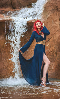 Gillykins as Mera