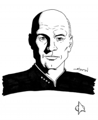 Jean-Luc Picard from Steven A Wilcox