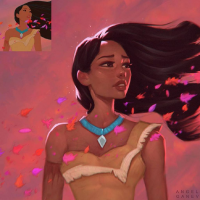Pocahontas from Angel Ganev