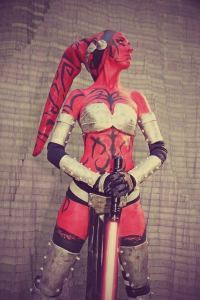 Ray Grey Cosplay as Darth Talon