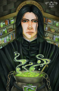 Severus Snape from Sika-chan