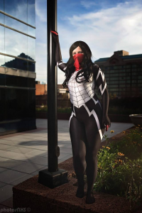 Bubblegum Nightshades Cosplay as Silk