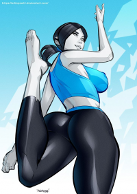 Wii Fit Trainer from Carlos Javier