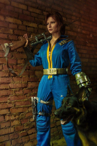 Jannet Rudakova as Vault Dweller