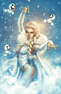 Elsa of Arendelle from Elias Chatzoudis