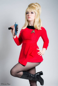 Mimi Reaves as Janice Rand