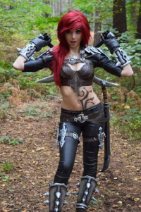 LittleJem as Katarina