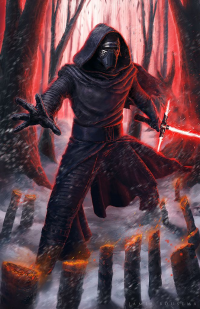 Kylo Ren from James Bousema