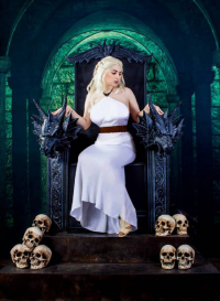 Princess Nightmare as Daenerys Targaryen