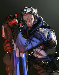 Soldier: 76 from 13Loody