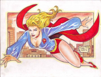 Supergirl from Martin Rodel