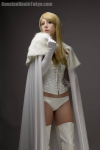 Constantine in Tokyo as Emma Frost