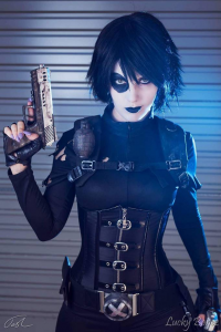 Bad Luck Kitty as Domino