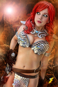 Nicole Marie Jean as Red Sonja