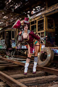 Casey Cooper Cosplay as Mad Moxxi