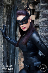 The Lazy Cosplayer as Catwoman