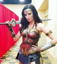 Alyson Tabbitha as Wonder Woman